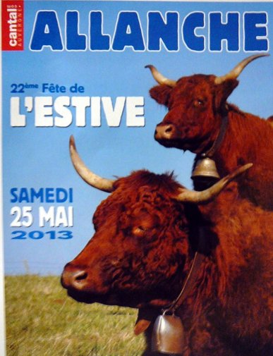 Day Poster from the summer pastures of Allanche (Edition 2013)