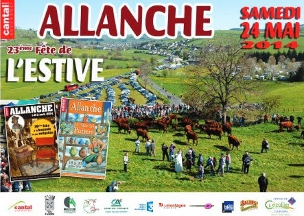 Day Poster from the summer pastures of Allanche (Edition 2014)