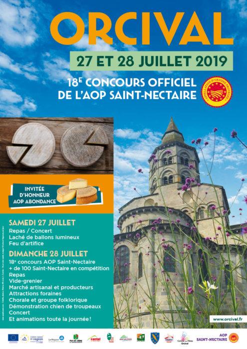 Concours AOP Saint Nectaire 2019 Orcival